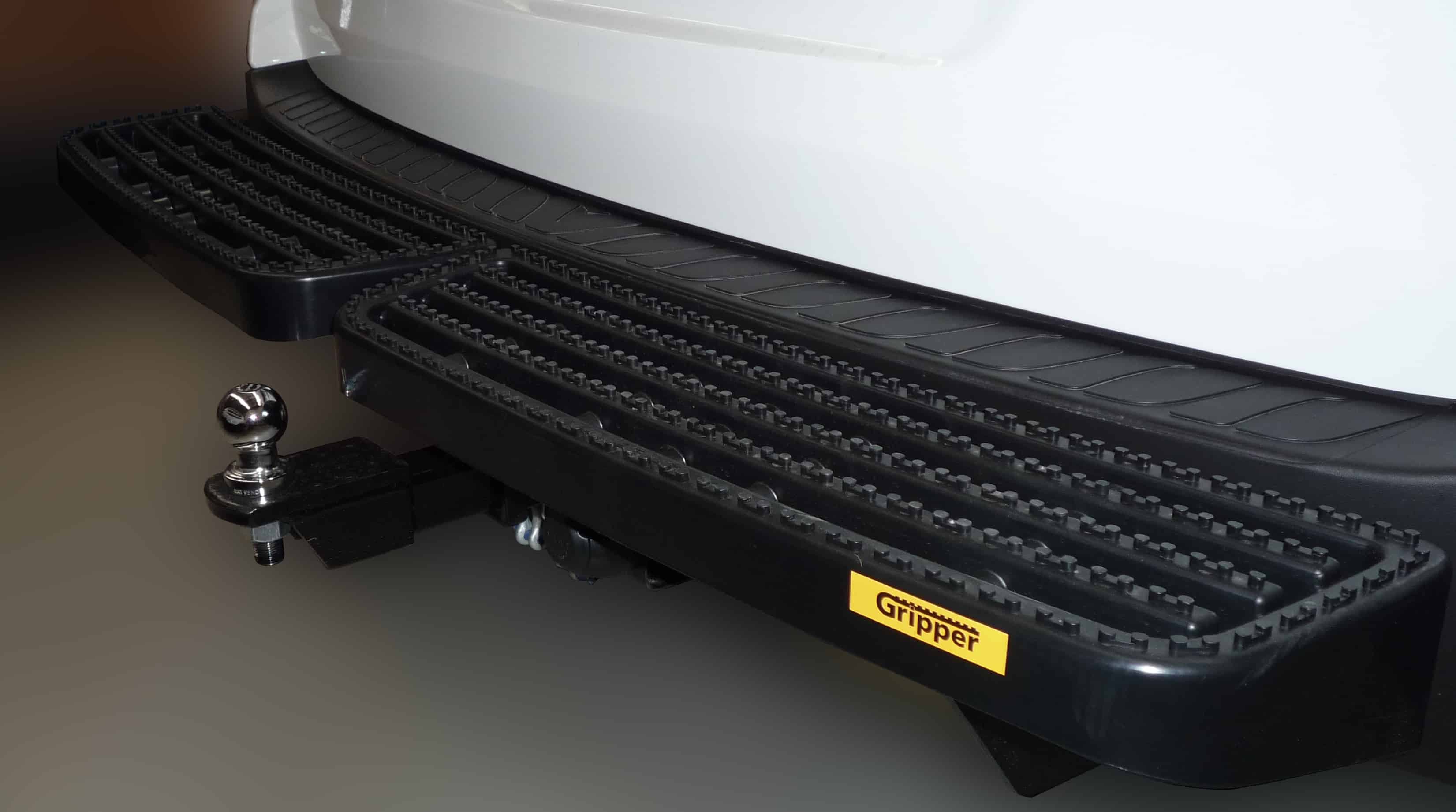 Volkswagen Transporter T5 T6 Rear Step With Tow Bar